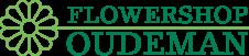 logo van flowershop oudeman